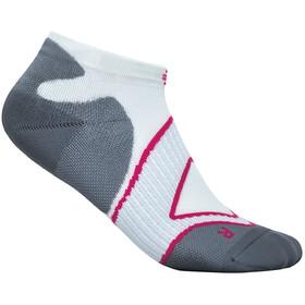Bauerfeind Run Performance Low Cut Socks Women, blanco/gris